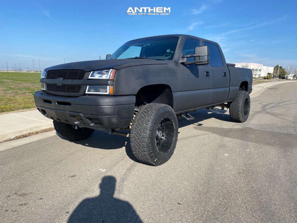 1 2005 Silverado 1500 Hd Chevrolet Rcd Suspension Lift 6in Anthem Off Road Enforcer Matte Black