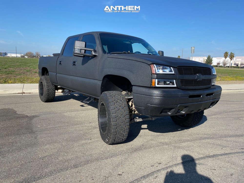 2 2005 Silverado 1500 Hd Chevrolet Rcd Suspension Lift 6in Anthem Off Road Enforcer Matte Black