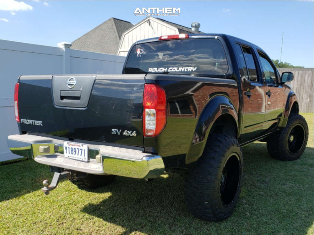 4 2012 Frontier Nissan Rough Country Suspension Lift 6in Anthem Off Road Instigator Black