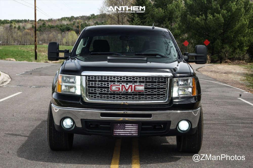 16 2011 Sierra 1500 Gmc 2 Inch Level Leveling Kit Anthem Off Road Instigator Machined Black