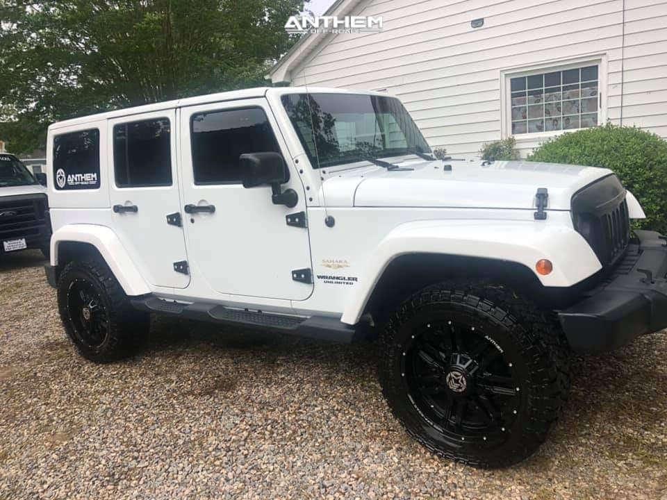 13 2015 Wrangler Jeep Unlimited Sahara Teraflex Leveling Kit Anthem Off Road Equalizer Black