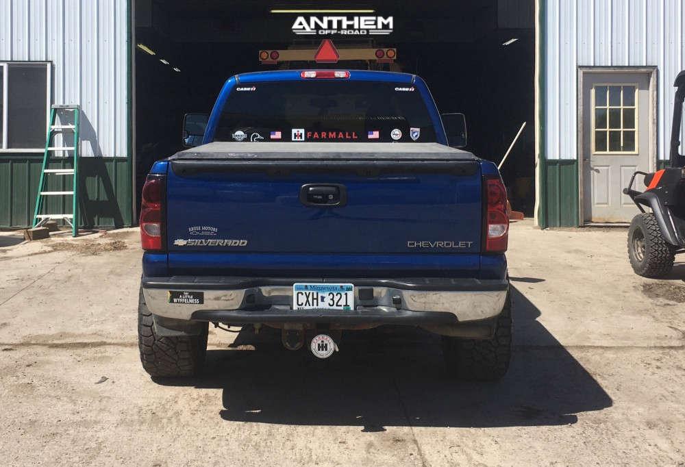 3 2004 Silverado 1500 Chevrolet Superlift Suspension Lift 25in Anthem Equalizer Black
