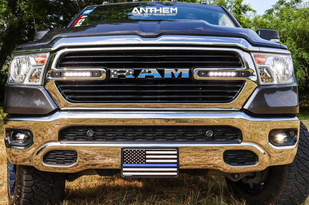 2 2019 1500 Ram Readylift Suspension Lift 35in Anthem Off Road Avenger Black