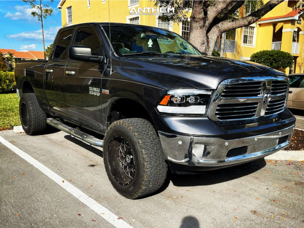 1 2015 1500 Ram Rough Country Suspension Lift 6in Anthem Off Road Avenger Black