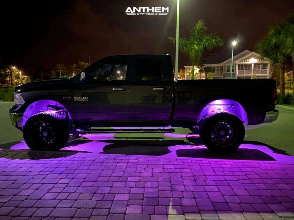 12 2015 1500 Ram Rough Country Suspension Lift 6in Anthem Off Road Avenger Black
