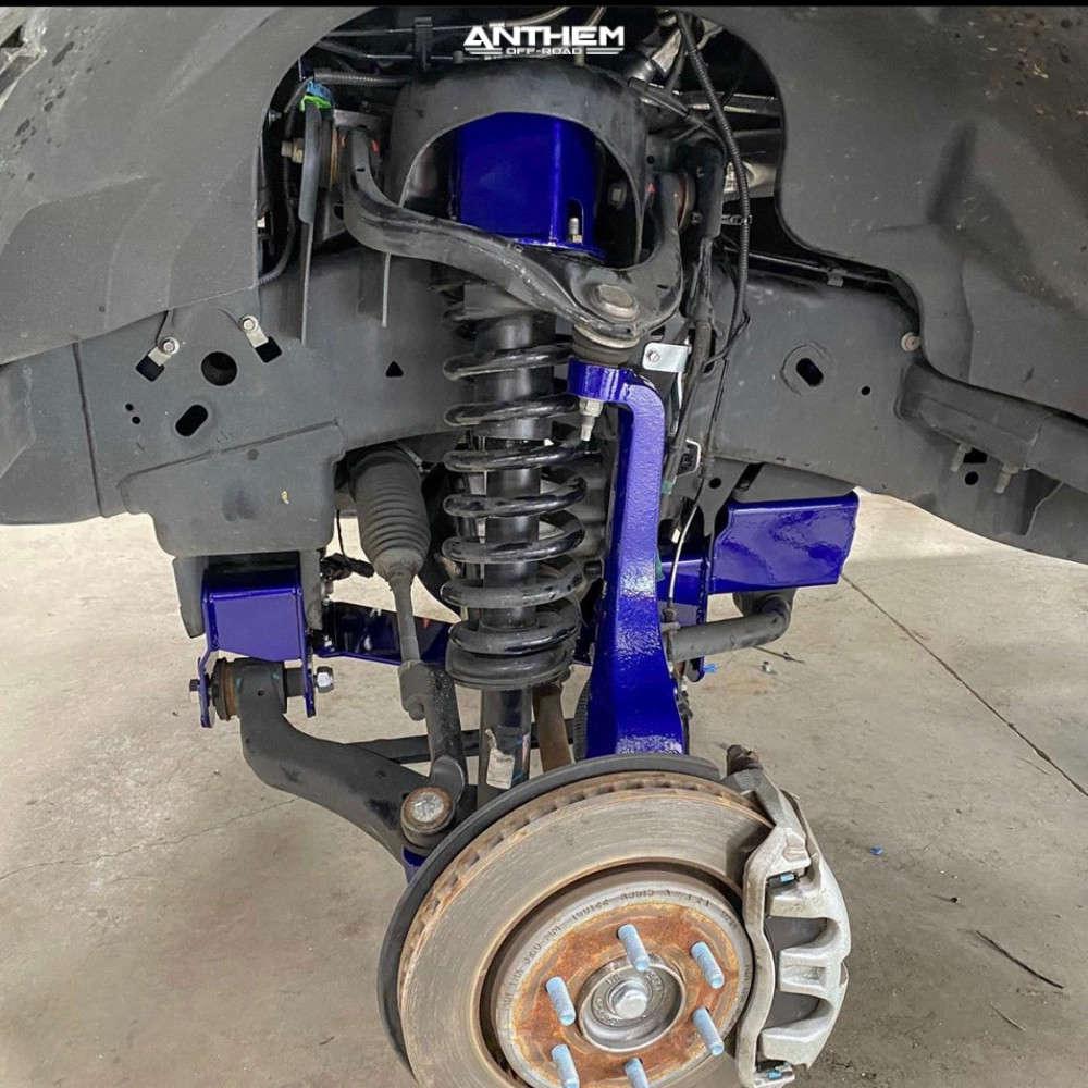 13 2019 F 150 Ford Superlift Suspension Lift 6in Anthem Off Road Instigator Machined Black