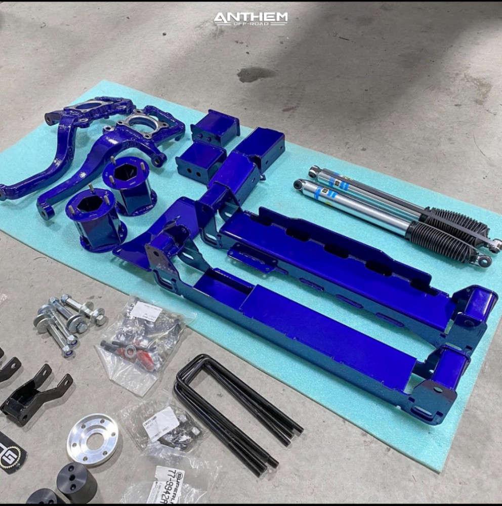 14 2019 F 150 Ford Superlift Suspension Lift 6in Anthem Off Road Instigator Machined Black
