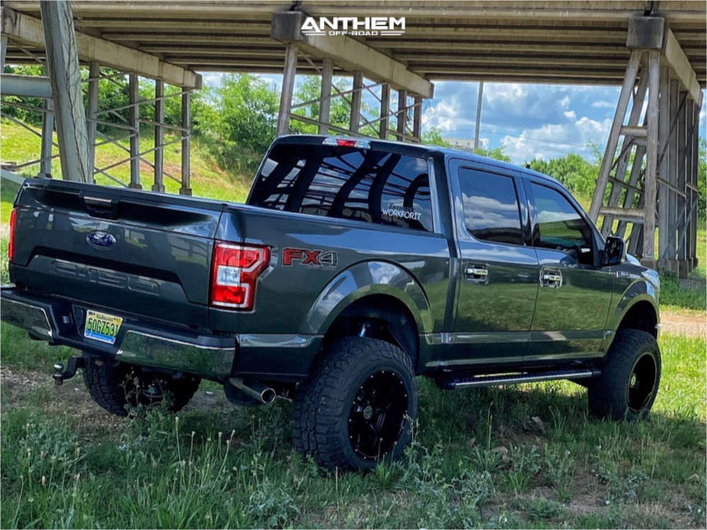4 2019 F 150 Ford Superlift Suspension Lift 6in Anthem Off Road Instigator Machined Black