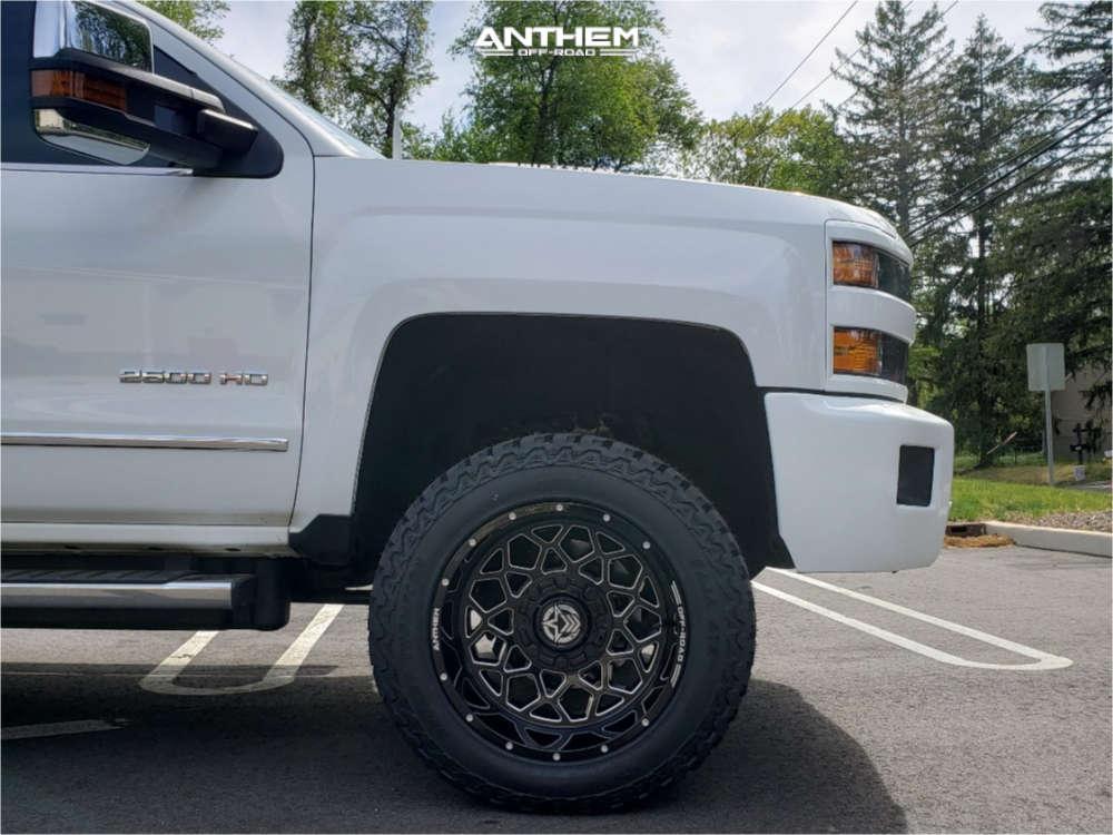 15 2015 Silverado 2500 Hd Chevrolet Kryptonite Leveling Kit Anthem Off Road Avenger Black
