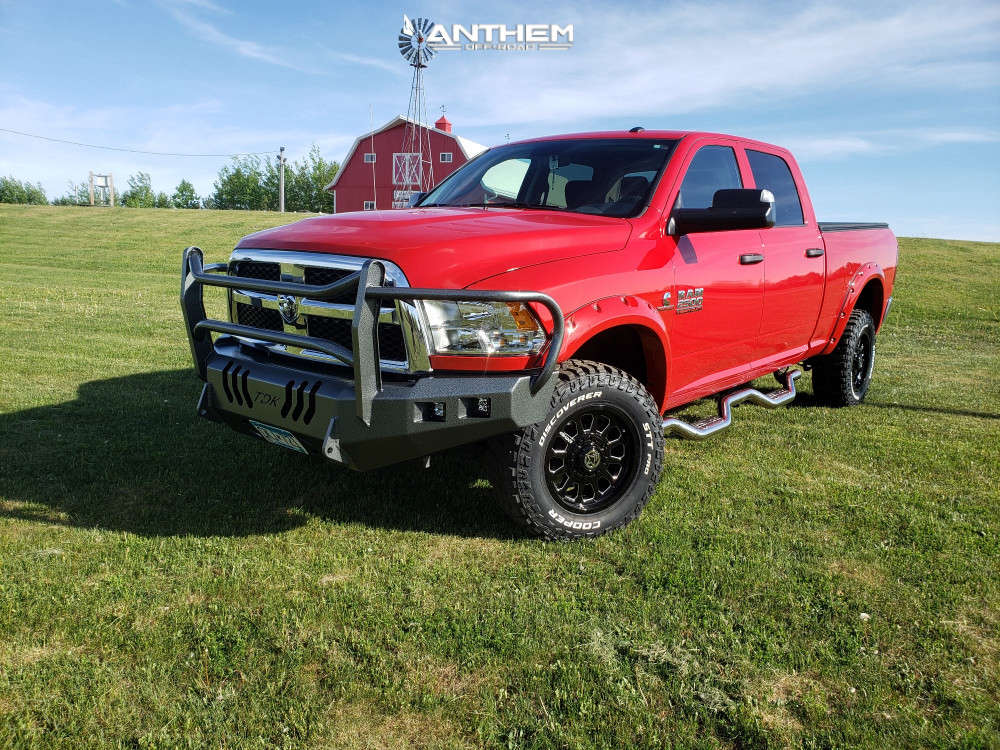 1 2018 2500 Ram Stock Air Suspension Anthem Off Road Intimidator Machined Accents