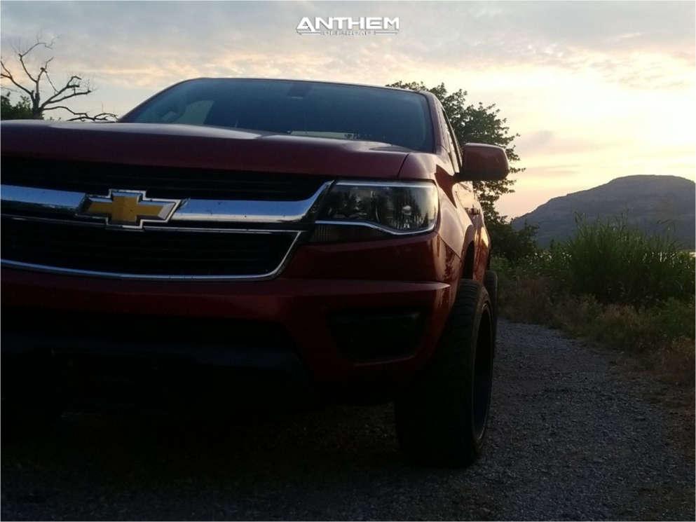 14 2015 Colorado Chevrolet Stock Air Suspension Anthem Off Road Avenger Black