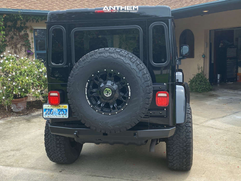 3 2003 Tj Jeep Sport Rough Country Stock Anthem Off Road Aviator Black