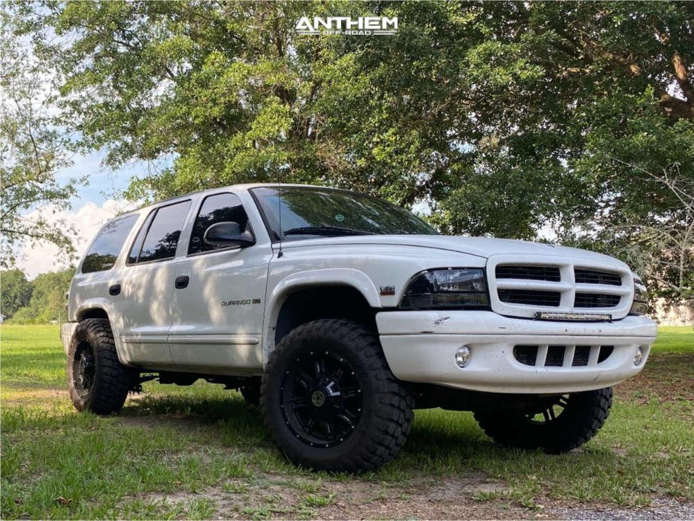 1 1998 Durango Dodge Supreme Suspension Lift 3in Anthem Off Road Instigator Machined Accents