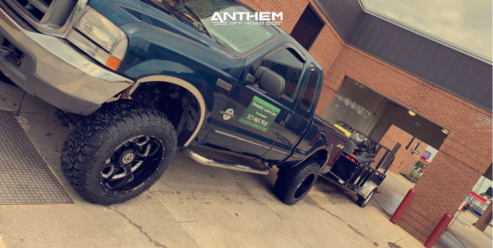1 1999 F 250 Super Duty Ford Tuff Country Stock Anthem Off Road Commander Black