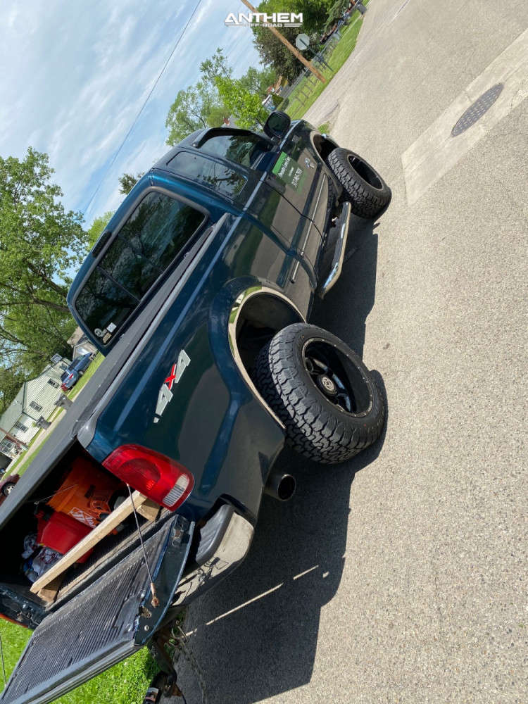3 1999 F 250 Super Duty Ford Tuff Country Stock Anthem Off Road Commander Black