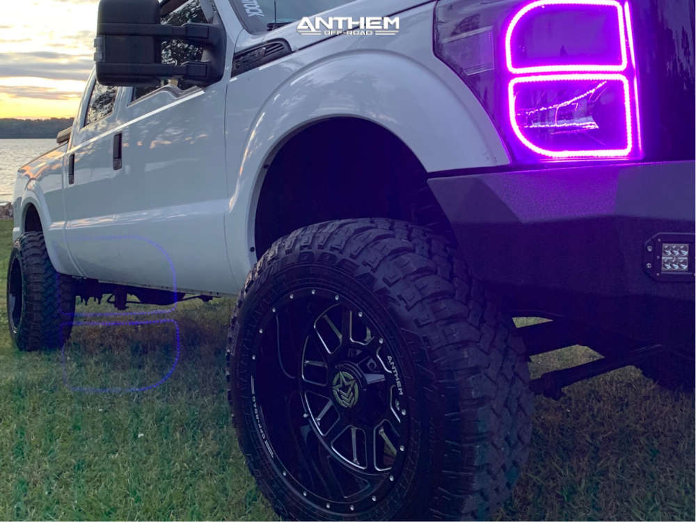 9 2015 F 250 Super Duty Ford 2 Inch Level Leveling Kit Anthem Off Road Gunner Black