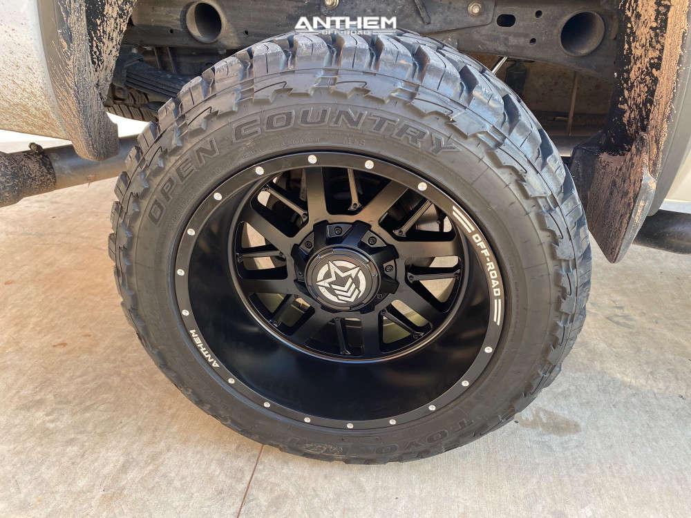 7 2015 Sierra 2500 Hd Gmc Zone Suspension Lift 3in Anthem Off Road Gunner Black