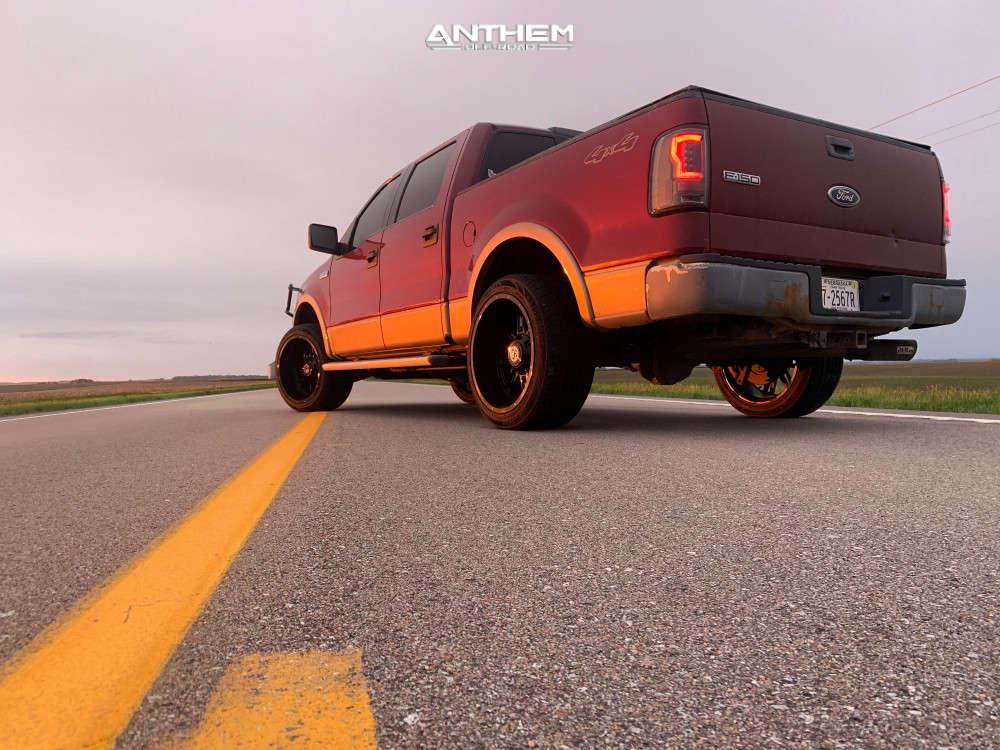 1 2004 F 150 Ford 2 Inch Level Leveling Kit Anthem Off Road Instigator Black