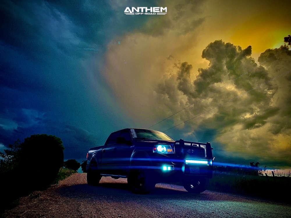 4 2004 F 150 Ford 2 Inch Level Leveling Kit Anthem Off Road Instigator Black
