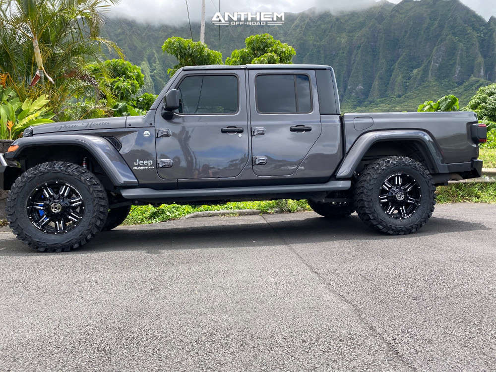 7 2020 Gladiator Jeep Overland Fox Leveling Kit Anthem Off Road Defender Black