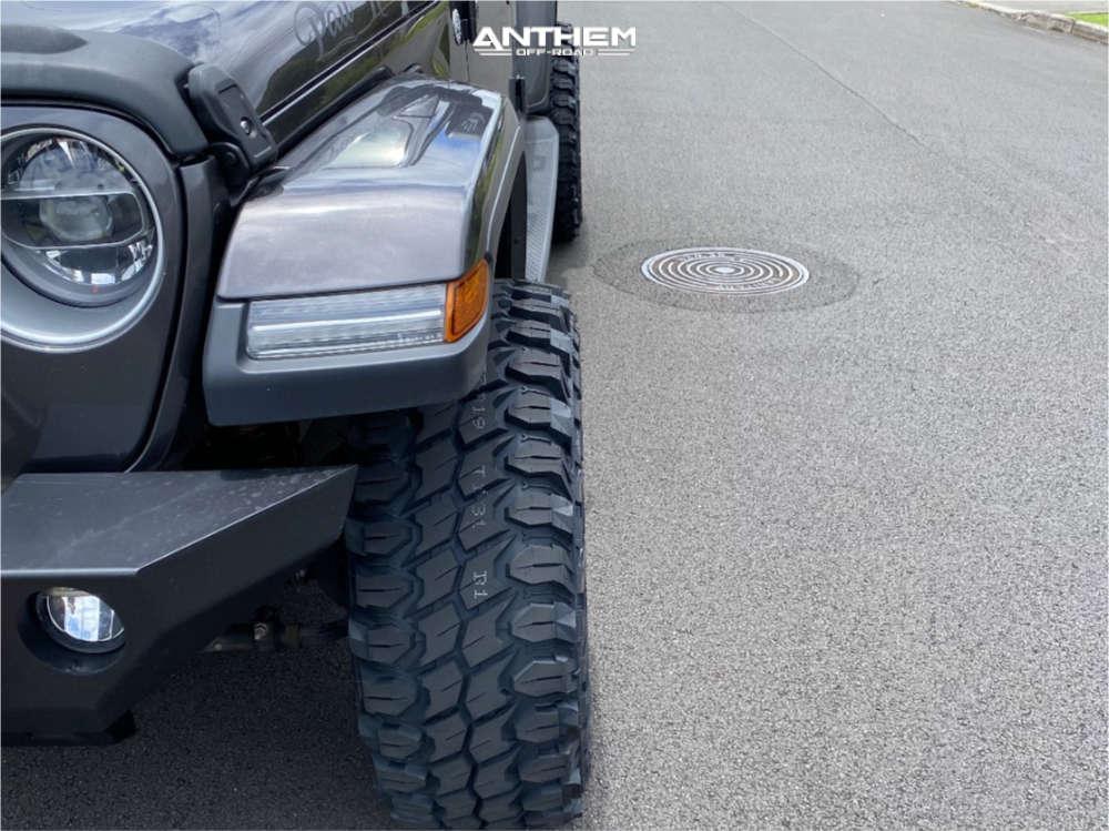 8 2020 Gladiator Jeep Overland Fox Leveling Kit Anthem Off Road Defender Black