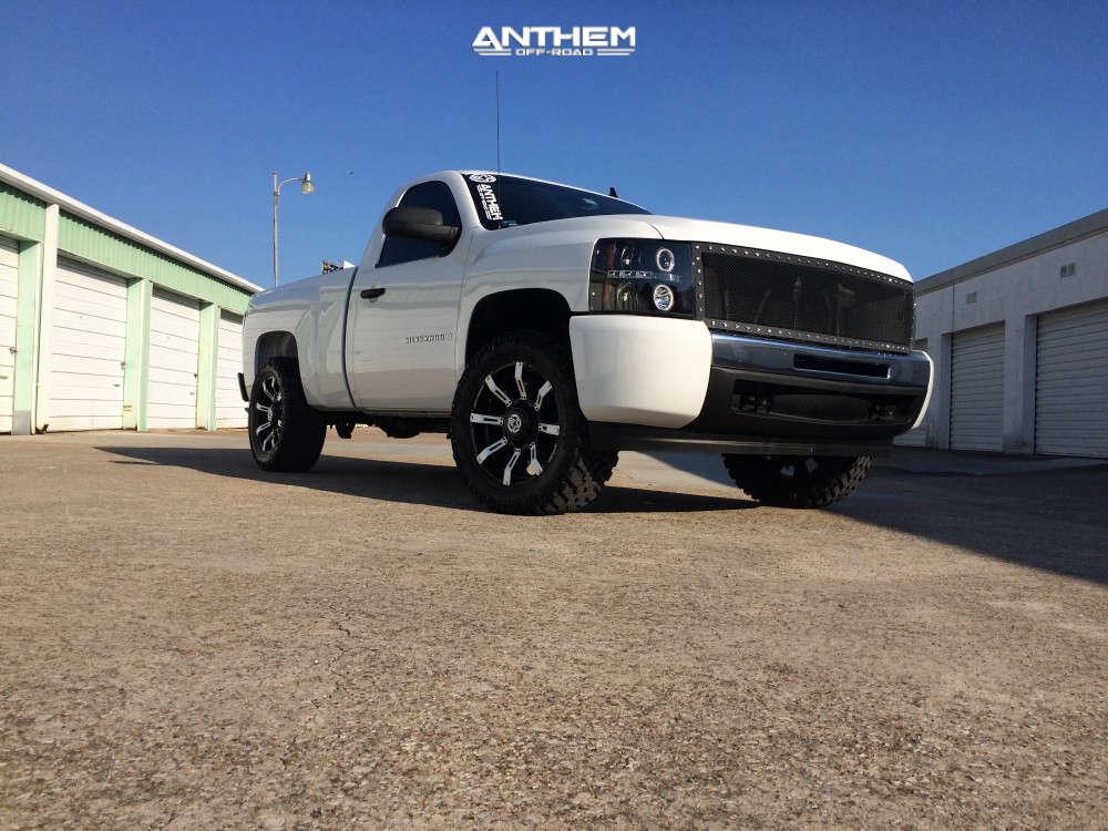 2 2009 Silverado 1500 Chevrolet Fabtech Leveling Kit Anthem Off Road Defender Black