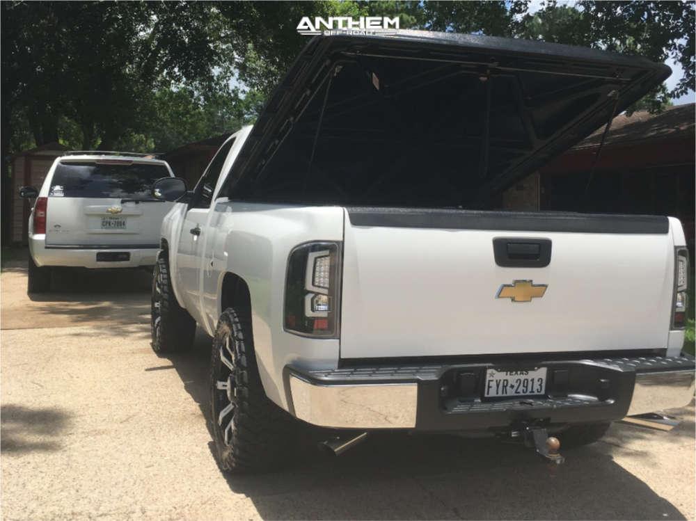 3 2009 Silverado 1500 Chevrolet Fabtech Leveling Kit Anthem Off Road Defender Black