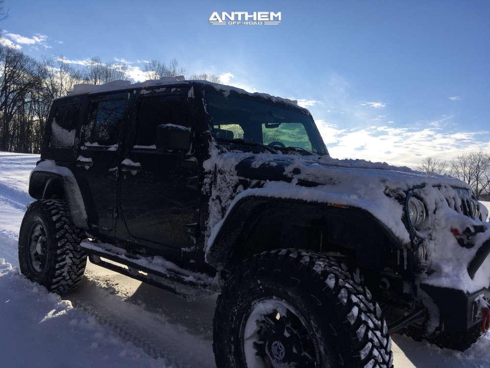 7 2010 Wrangler Jk Jeep Base Teraflex Suspension Lift 6in Anthem Off Road Aviator Black