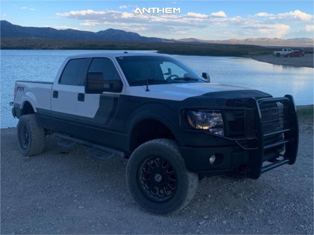 1 2014 F 150 Ford Daystar Leveling Kit Body Lift Anthem Off Road Intimidator Machined Black