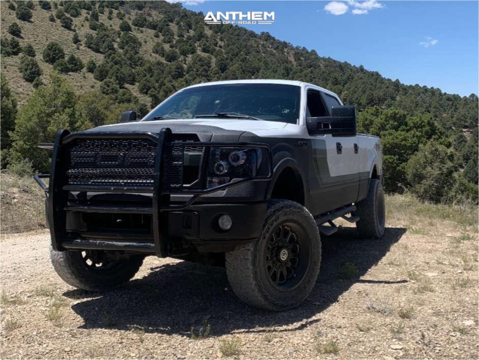 2 2014 F 150 Ford Daystar Leveling Kit Body Lift Anthem Off Road Intimidator Machined Black