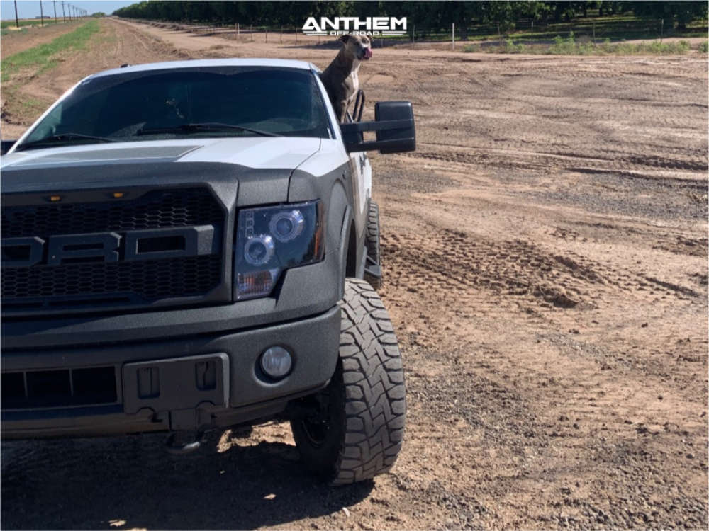 5 2014 F 150 Ford Daystar Leveling Kit Body Lift Anthem Off Road Intimidator Machined Black