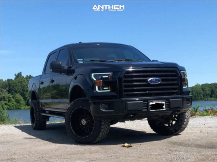 1 2017 F 150 Ford Readylift Suspension Lift 35in Anthem Off Road Equalizer Black