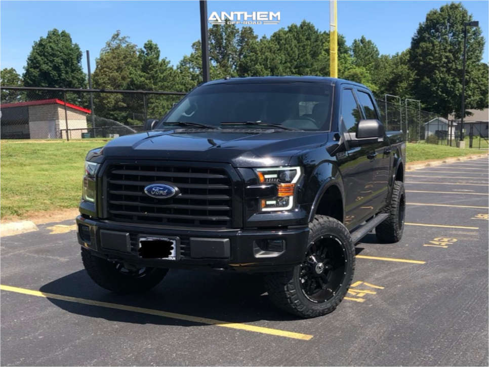 12 2017 F 150 Ford Readylift Suspension Lift 35in Anthem Off Road Equalizer Black