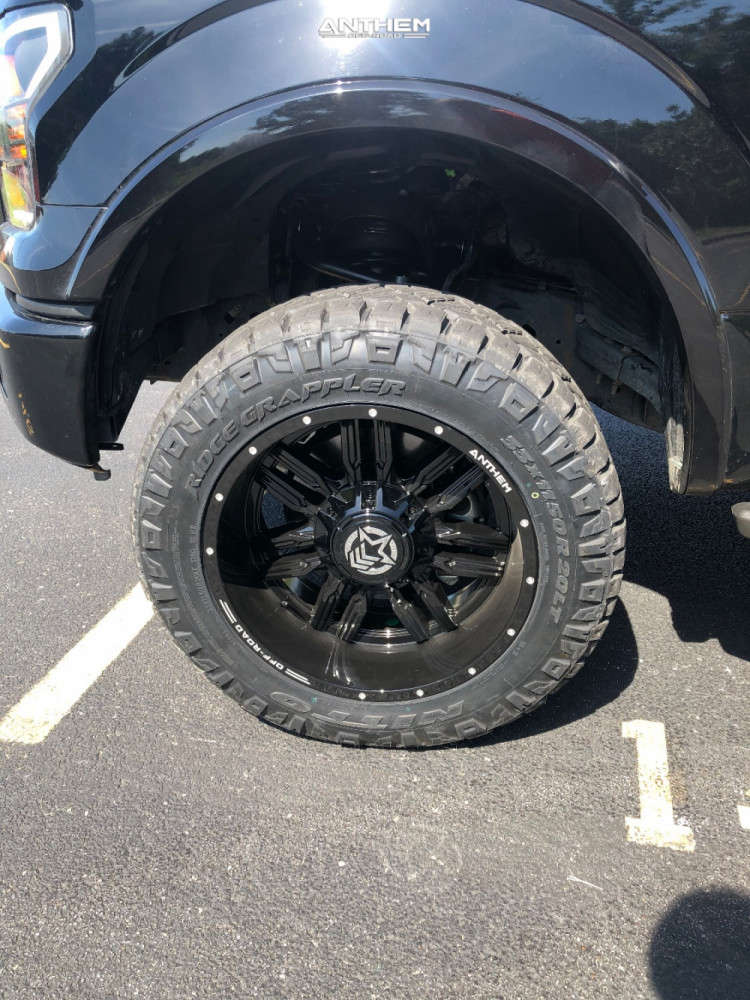 8 2017 F 150 Ford Readylift Suspension Lift 35in Anthem Off Road Equalizer Black