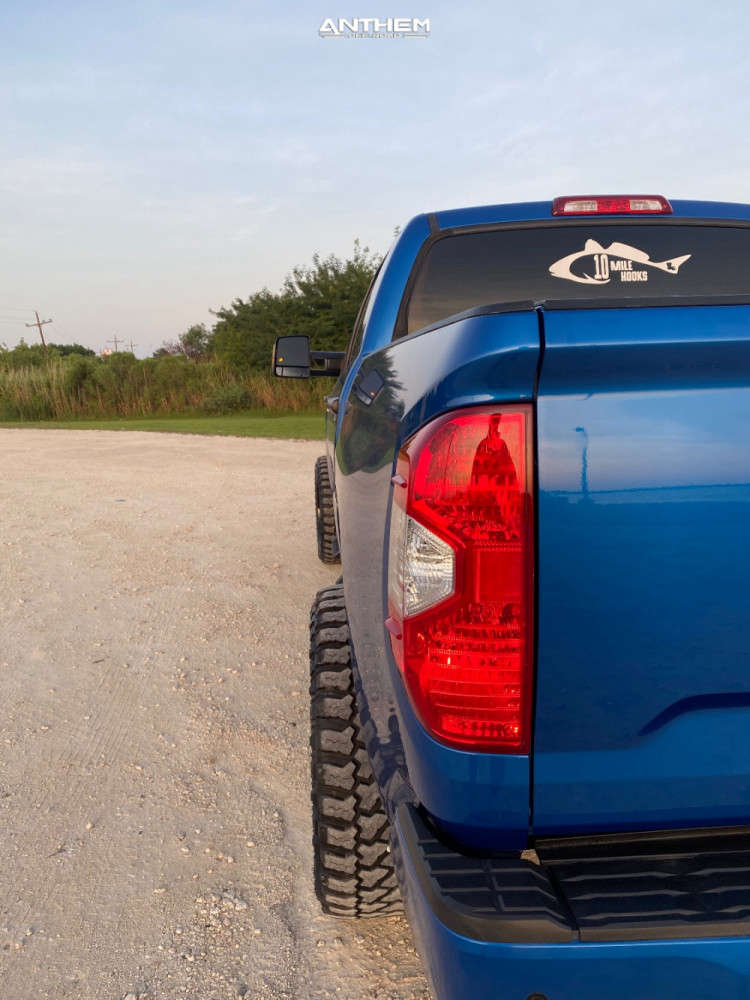 3 2018 Tundra Toyota Readylift Suspension Lift 3in Anthem Off Road Instigator Black