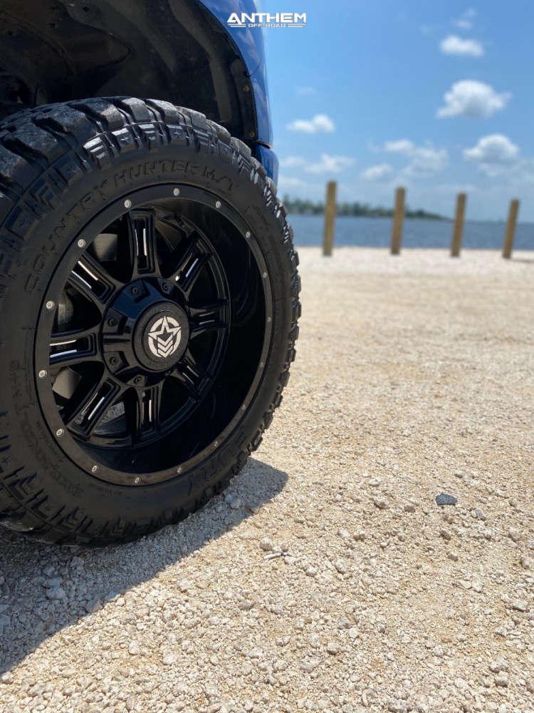 8 2018 Tundra Toyota Readylift Suspension Lift 3in Anthem Off Road Instigator Black