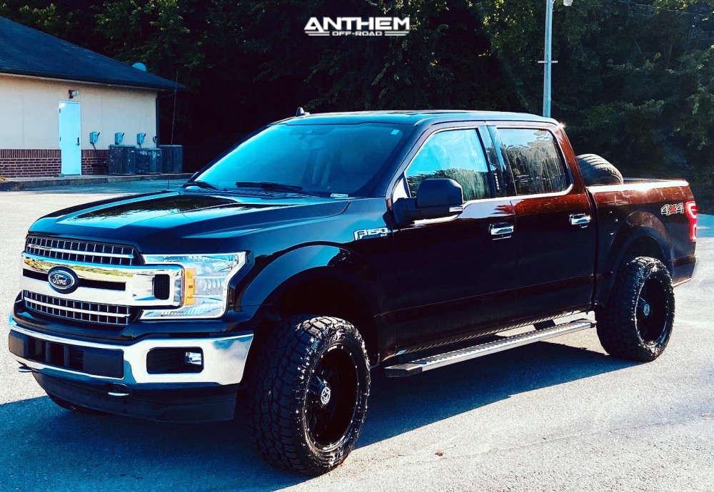 1 2019 F 150 Ford 2 Inch Level Leveling Kit Anthem Equalizer Black