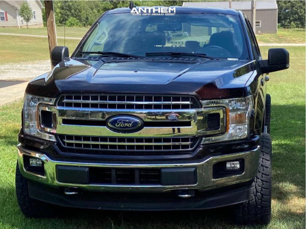 2 2019 F 150 Ford 2 Inch Level Leveling Kit Anthem Equalizer Black