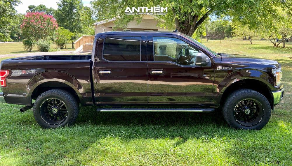 4 2019 F 150 Ford 2 Inch Level Leveling Kit Anthem Equalizer Black