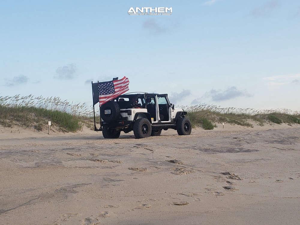 14 2015 Wrangler Jk Jeep Base Metalcloak Suspension Lift 35in Anthem Off Road Instigator Matte Black