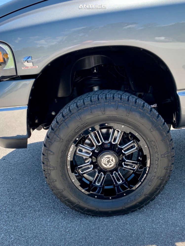 5 2005 Ram 2500 Dodge 2 Inch Level Leveling Kit Anthem Off Road Enforcer Machined Black