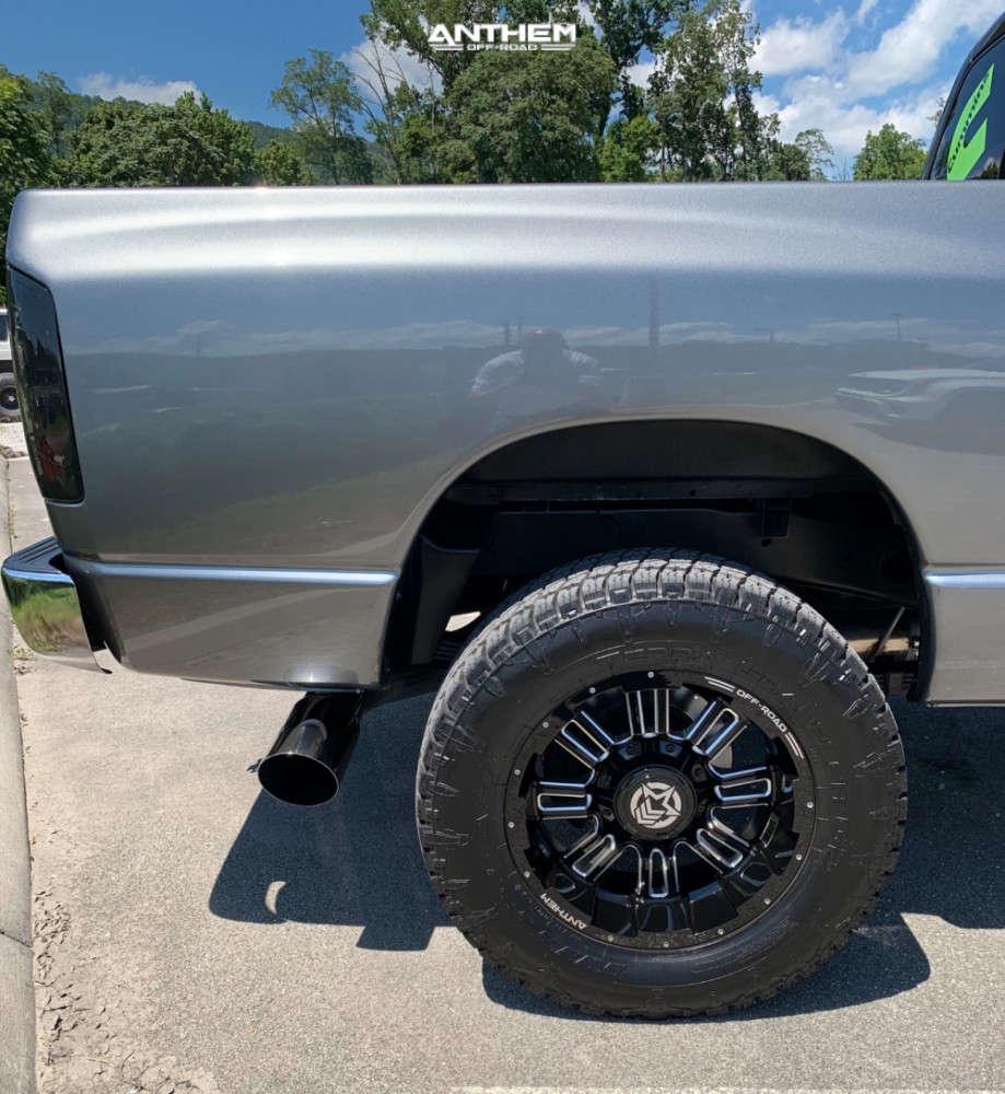 6 2005 Ram 2500 Dodge 2 Inch Level Leveling Kit Anthem Off Road Enforcer Machined Black