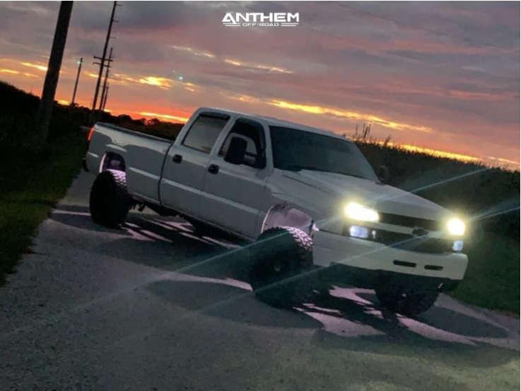 12 2005 Silverado 2500 Hd Chevrolet 2 Inch Level Air Suspension Anthem Off Road Equalizer Black