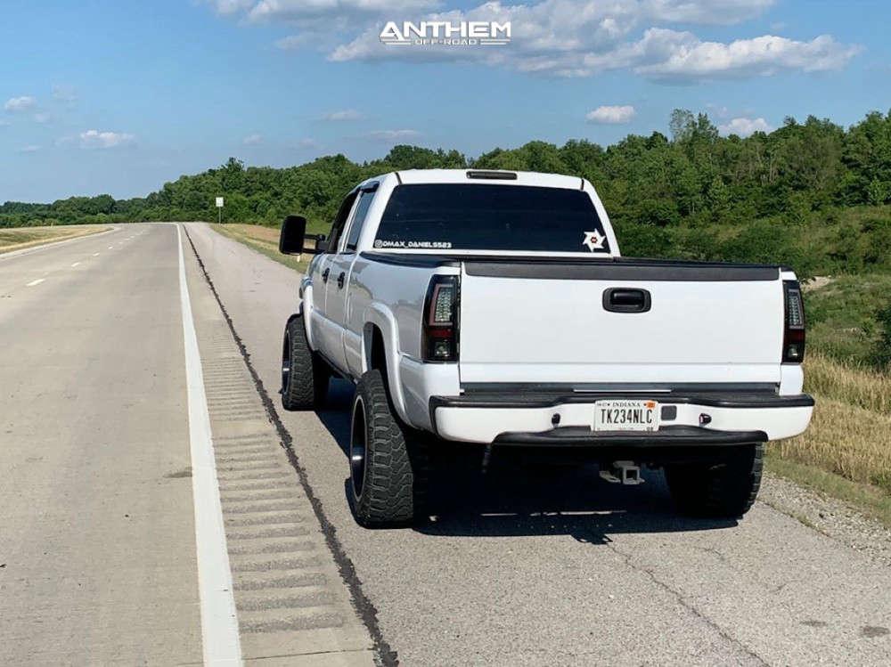 4 2005 Silverado 2500 Hd Chevrolet 2 Inch Level Air Suspension Anthem Off Road Equalizer Black