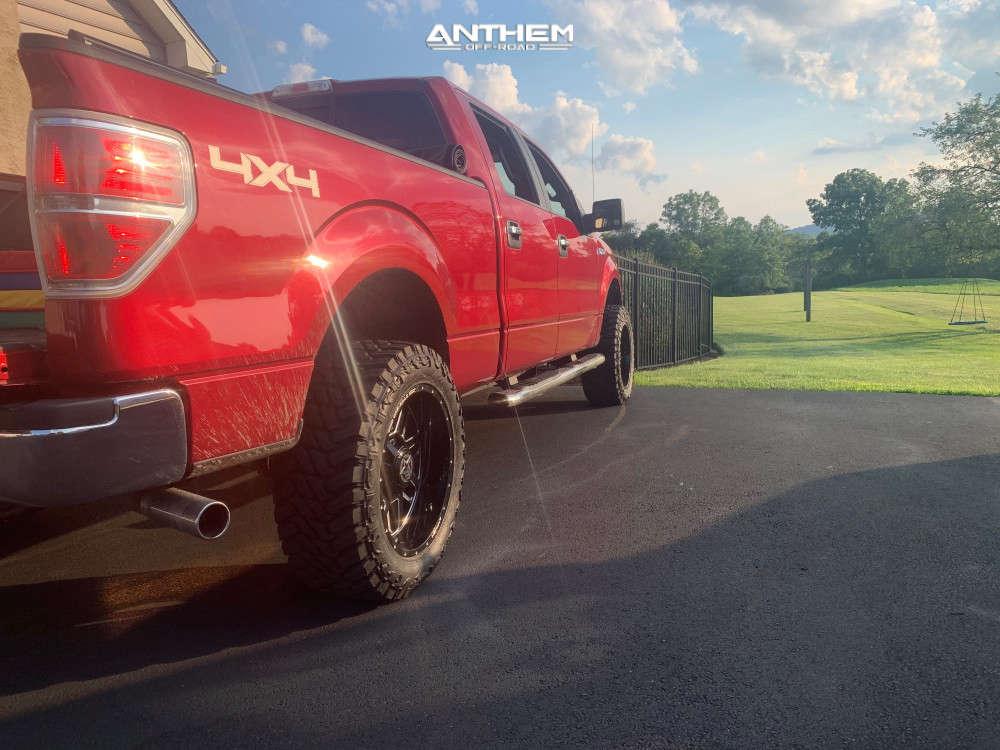 3 2014 F 150 Ford 2 Inch Level Leveling Kit Anthem Off Road Gunner Black