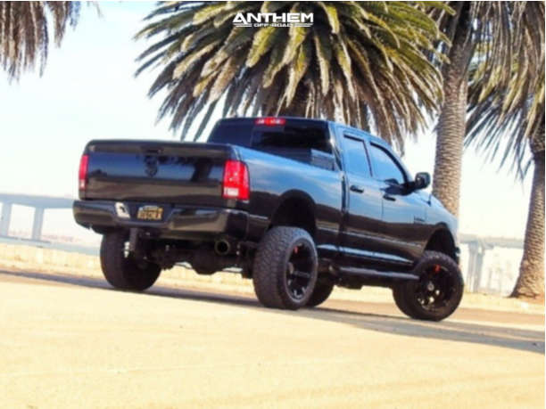 4 2018 1500 Ram Rough Country Suspension Lift 6in Anthem Off Road Defender Black