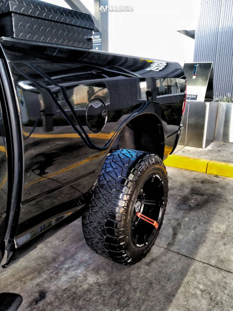 6 2018 1500 Ram Rough Country Suspension Lift 6in Anthem Off Road Defender Black
