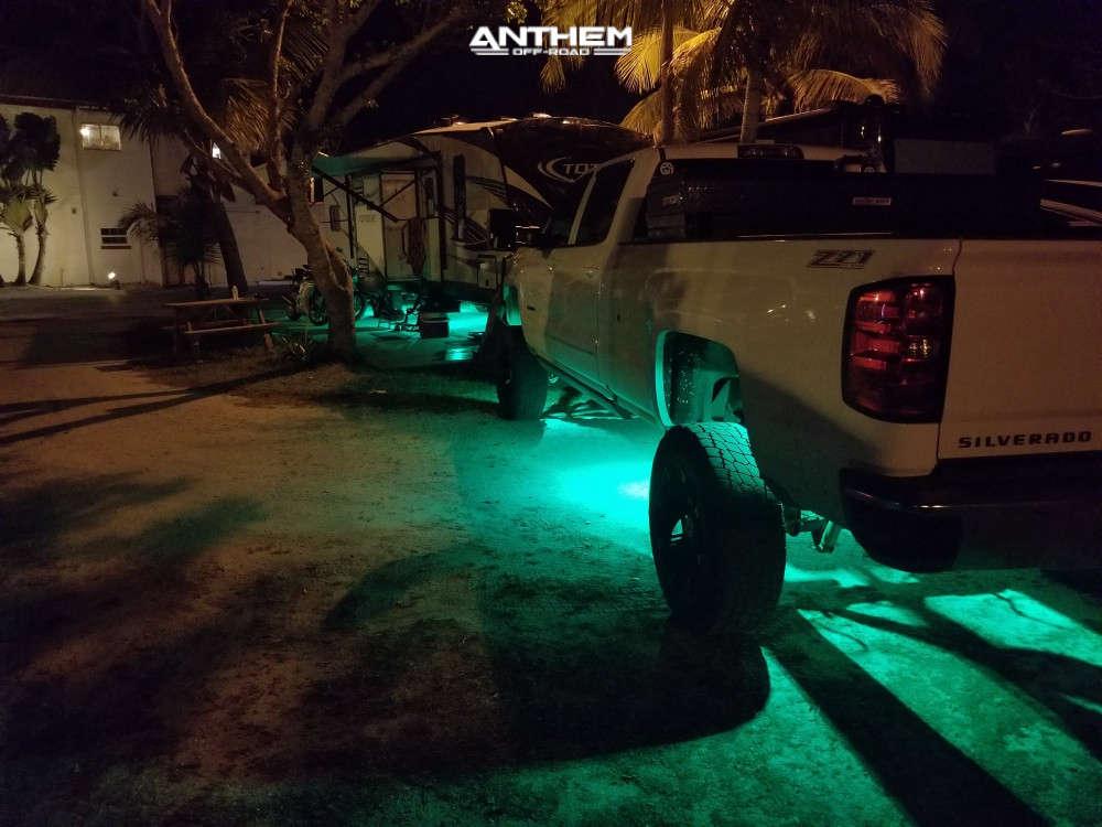 4 2016 Silverado 2500 Hd Chevrolet Bds Suspension Lift 6in Anthem Off Road Defender Black
