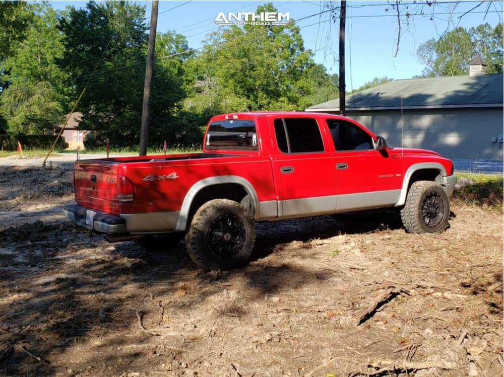 4 2002 Dakota Dodge 2 Inch Level Leveling Kit Anthem Off Road Instigator Machined Accents