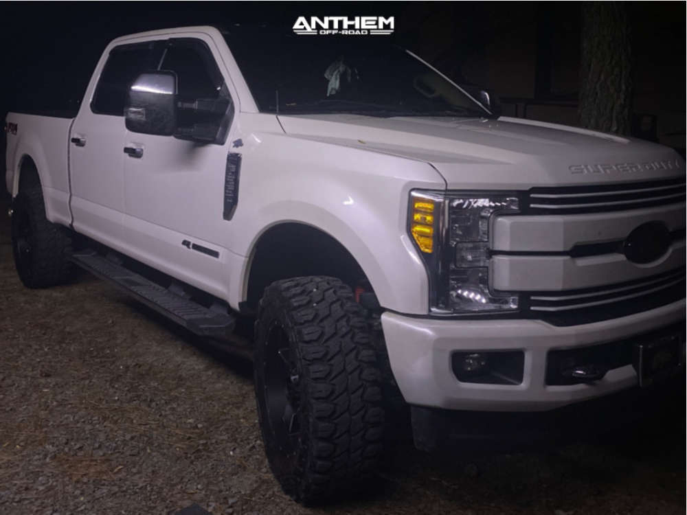 2 2017 F 250 Super Duty Ford Bds Suspension Lift 35in Anthem Off Road Intimidator Machined Black